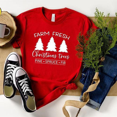 Farm Fresh Christmas Trees T-Shirt