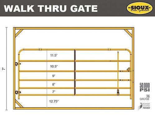 Victory Walk-Thru Gate