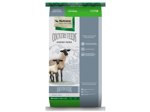 Nutrena Country Feeds Sheep Pellet with Bovatec
