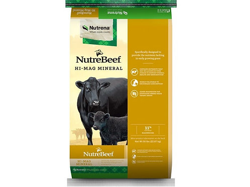 NutreBeef Cattle Mineral - Hi Mag