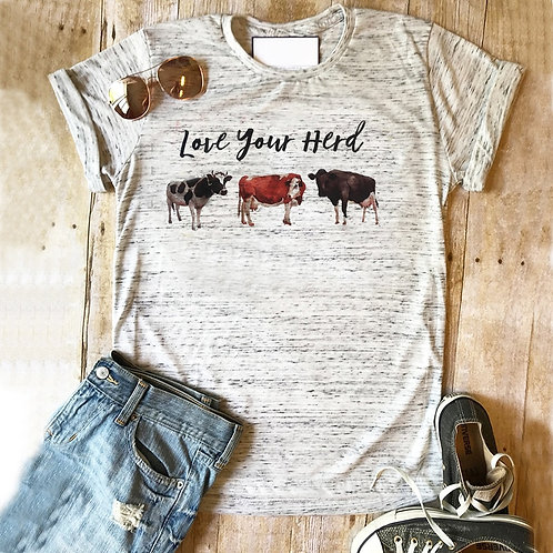 Farm Tshirt Mothers Day Gift for Mom Tee Birthday Gift Love Your Tribe Goat T