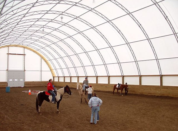 In-door Riding Arena