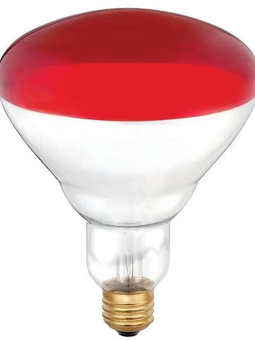 Brooder 125 Watt Red Faced Heat Lamp Bulb