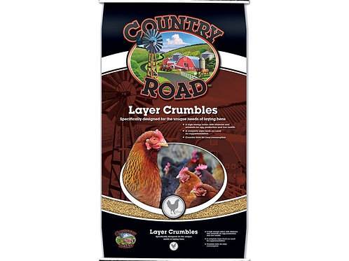 Country Road Layer Crumbles Feed 50lb.