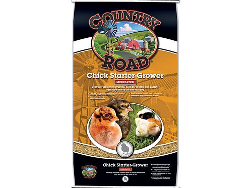 Country Road Chick Starter Grower Medicated 50lb.