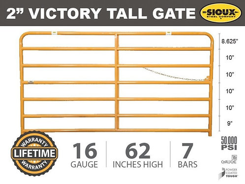 """2"""" Victory Tall Gate"""