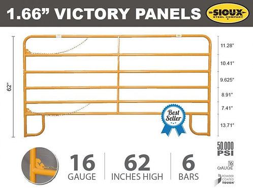 """1.66"""" Victory Cattle Panel"""