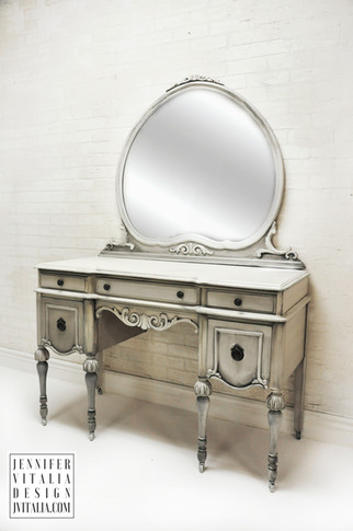 make up vanity kidney shaped antique jennifer vitalia design