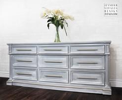 Modern Painted Furniture Gray Jennifer Vitalia Design