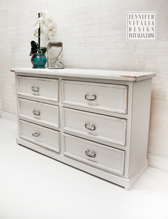 Coastal Decor Jennifer Vitalia Design Painted Dresser