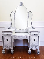 FRENCH PAINTED MAKEUP VANITY - JENNIFER