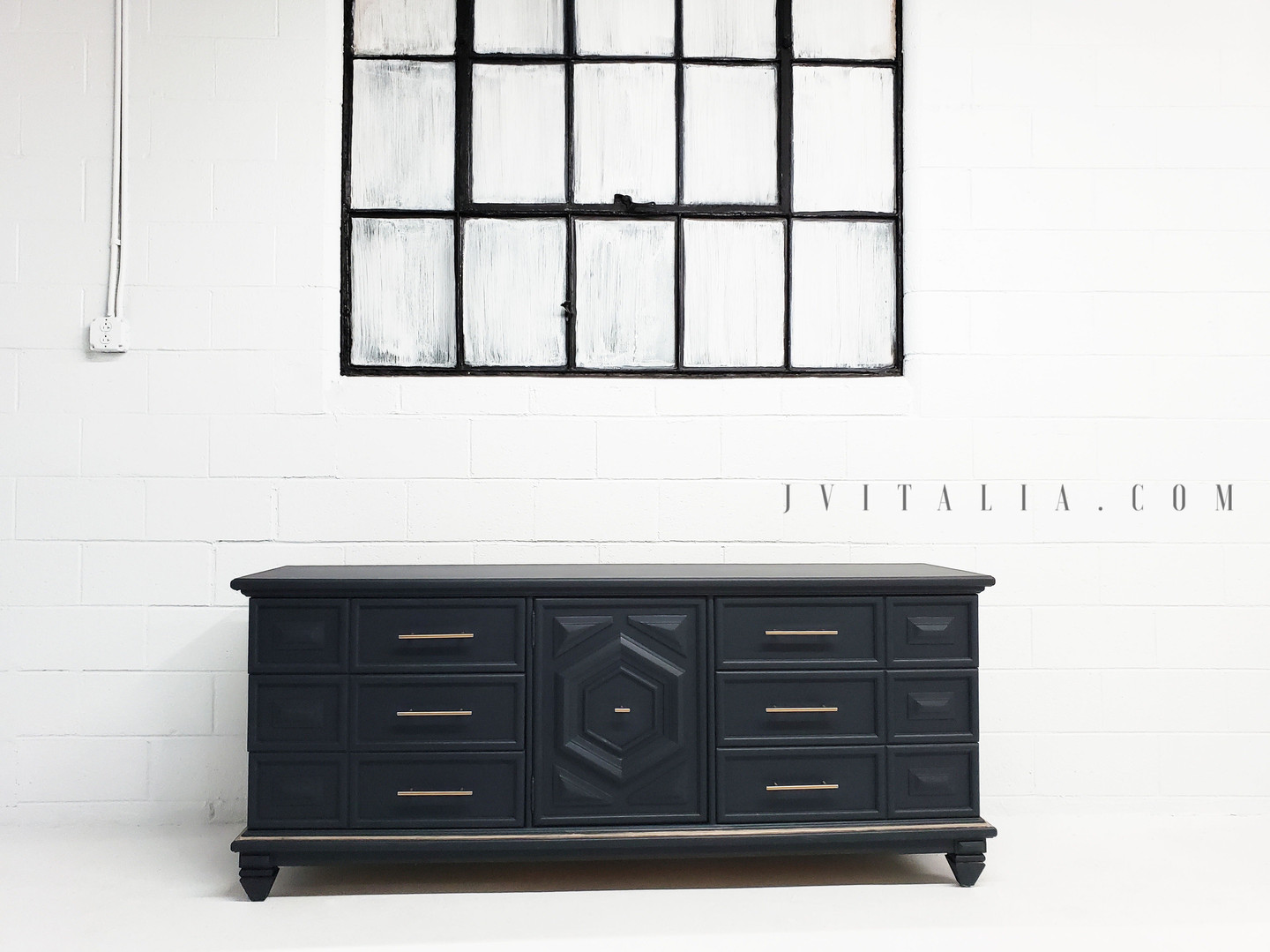 chinoiserie blue and gold dresser jennif