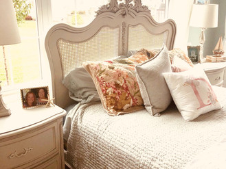 DIANE'S FRENCH COASTAL MASTER BEDROOM