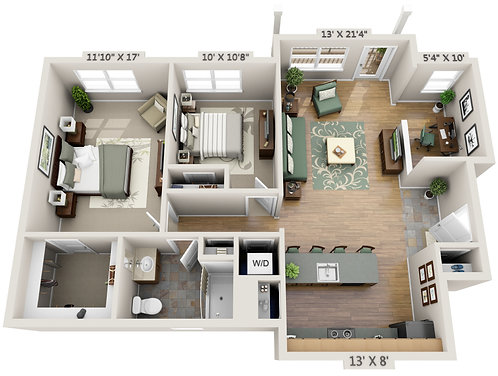 FURNITURE PLACEMENT DESIGN PACKAGE
