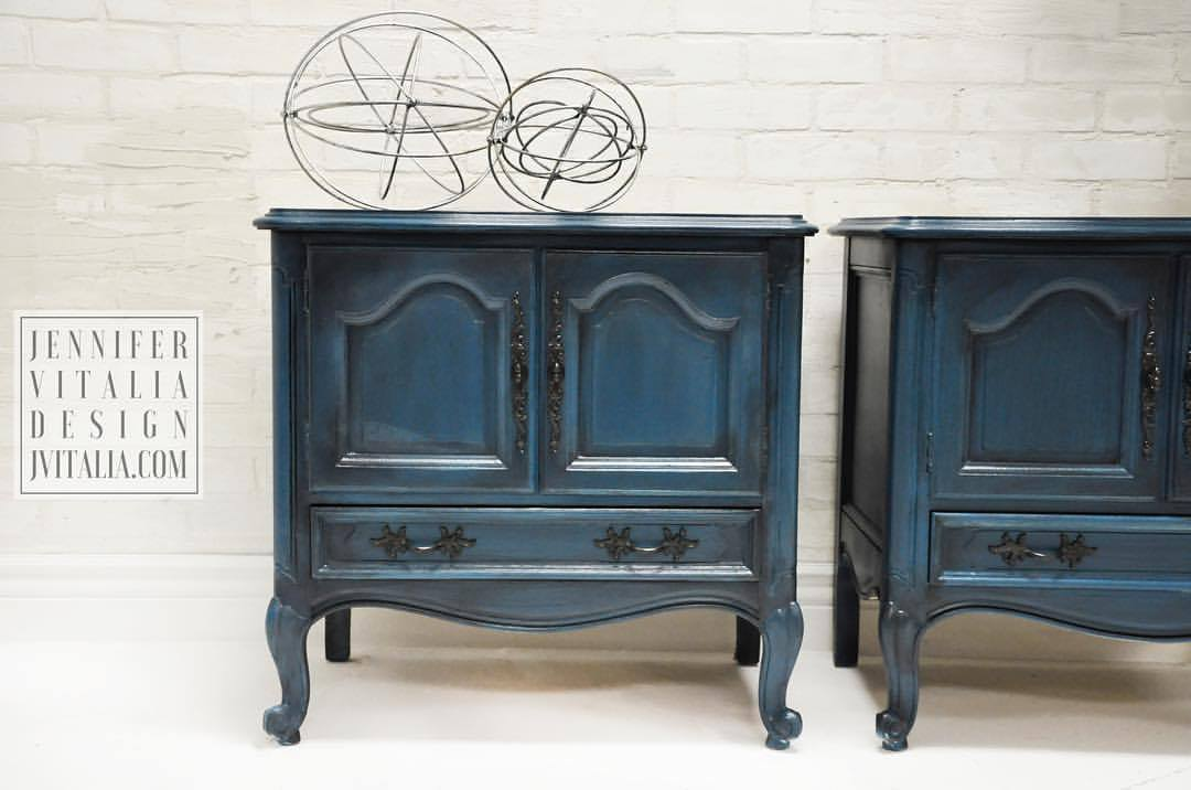 antique french rococo style nightsta