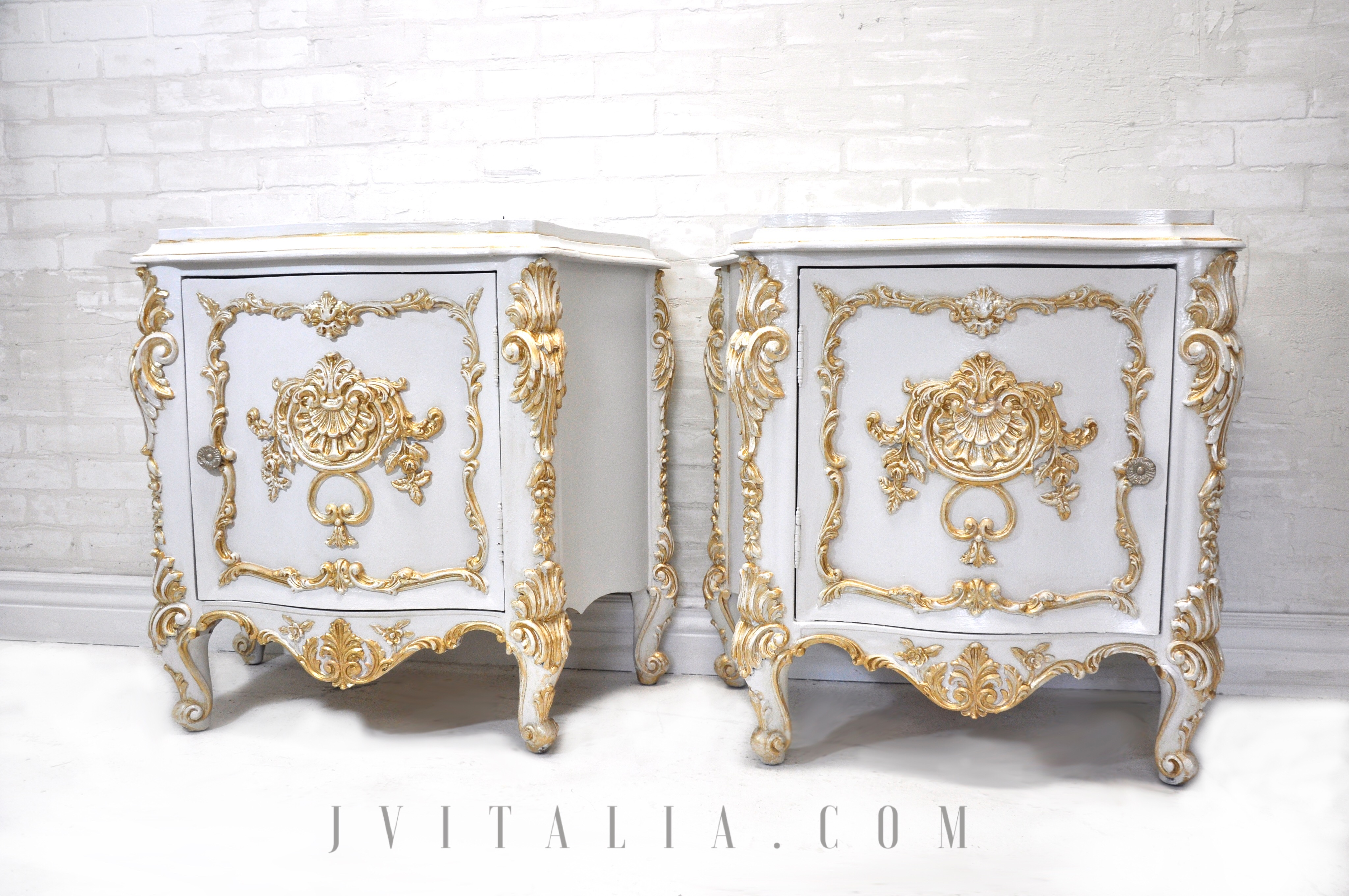 Rococo Hand Painted Furniture