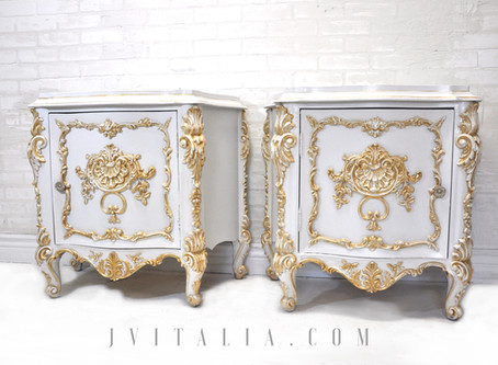 Rococo Style Hand Painted Furniture - Brief History
