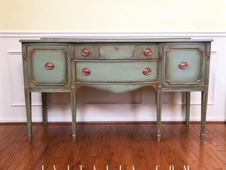 TRADITIONAL HAND PAINTED SIDEBOARDS