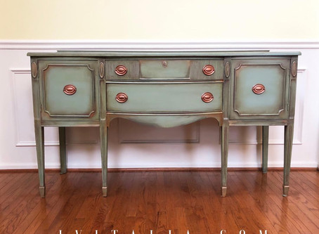 Traditional Painted Sideboards