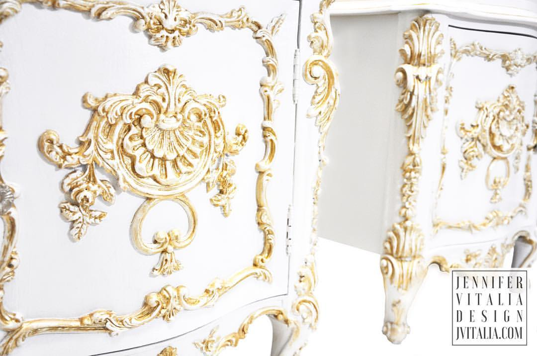 Jennifer Vitalia Design Rococo French Dresser