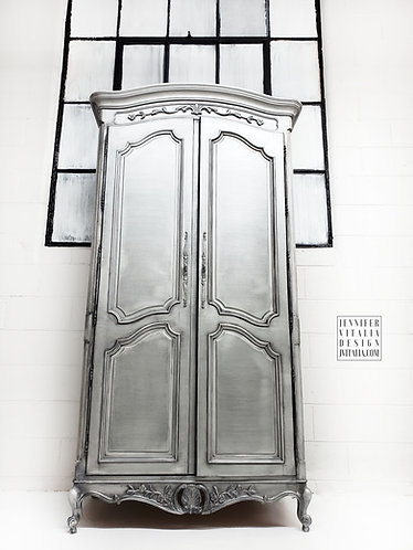 Zinc French Armoire