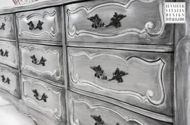 Jennifer Vitalia Design - Custom Painted Furniture NJ - French Dresser