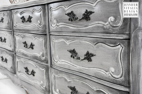 Painted Furniture NJ - French Dresser