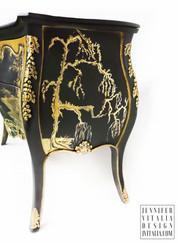 Antique Asian Bombay Chest Chinoiserie Jennifer Vitalia Design