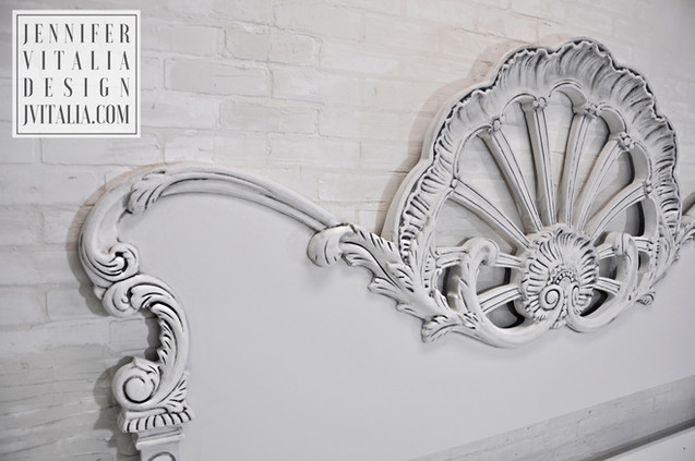 Painted French Headboards Rococo Headboard Antique Jennifer Vitalia Design