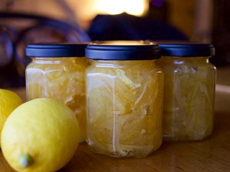 オーガニックレモンのマーマレード
