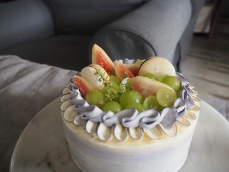 バタークリームケーキ~フルーツデコレーション~