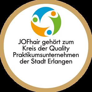 Qualifiziertes Praktikum QP Stadt Erlangen bei Friseur JOFhair