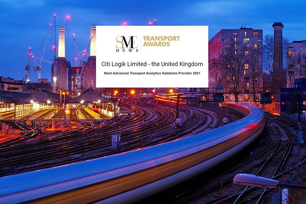 Citi Logik win Most Advanced Transport Analytics Solutions Provider award in SME news awards