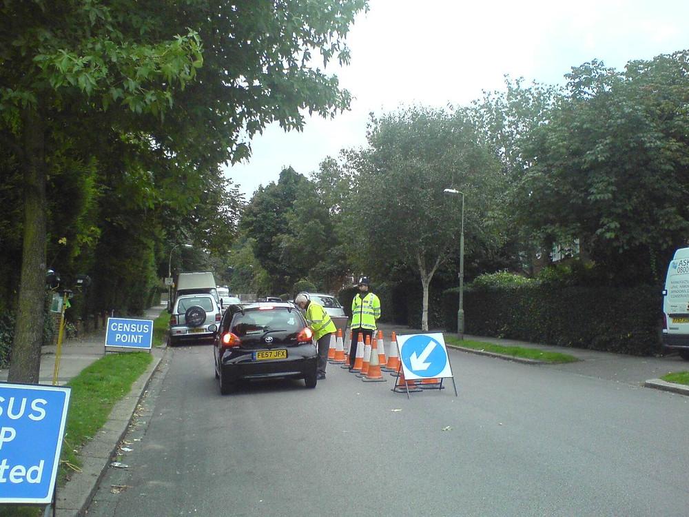 Roadside traffic surveys