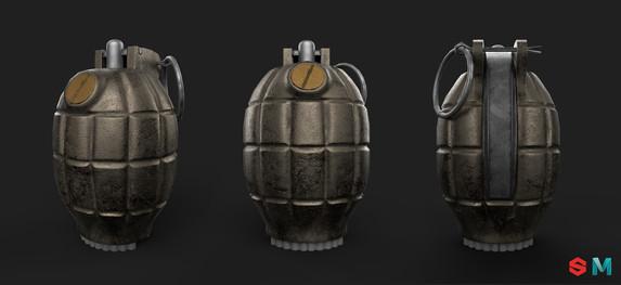 Mills bomb