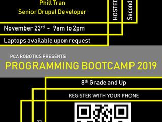 Programming Bootcamp!