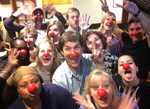 Red Nose Day at LA Pro VO Workout