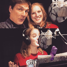 Behind the Scenes in the VO Booth