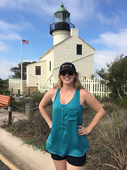 Me visiting the Old Point Loma Lighthousei San Diego, CA