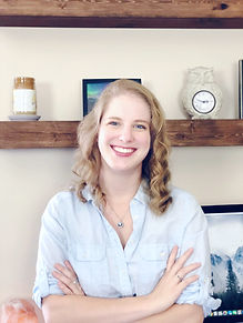 Jayme Mantos, Founder & CEO of Guiding Glow Candle Co.