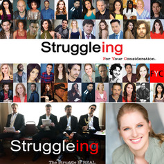 Cast of 'Struggleing' Series