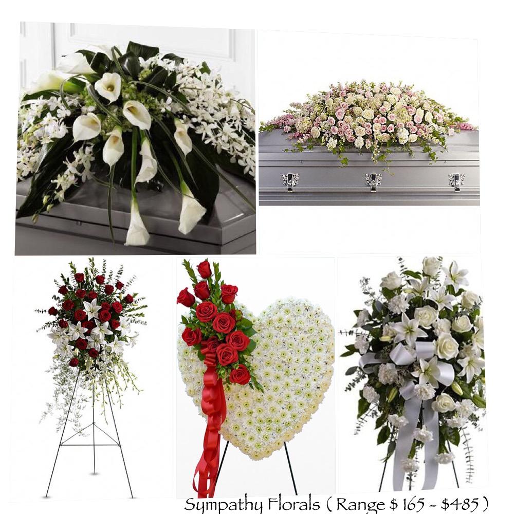 Florals $ 165- $ 485