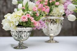 Mercury Beveled vase