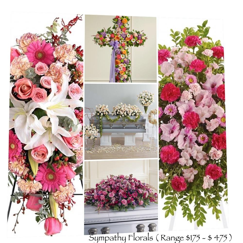 Florals $ 175 - $475