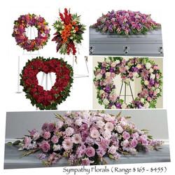 Florals $ 165 - $ 455