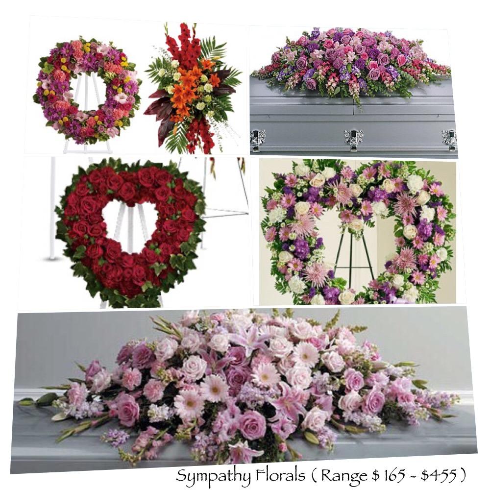 Florals $165 - $ 455