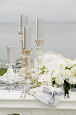 Glass Frosted Stands