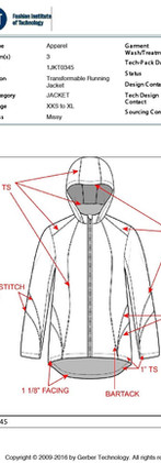 FIT senior thesis project - commuter jacket