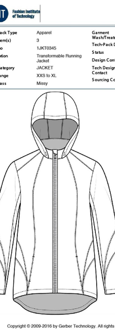 FIT thesis project - commuter jacket