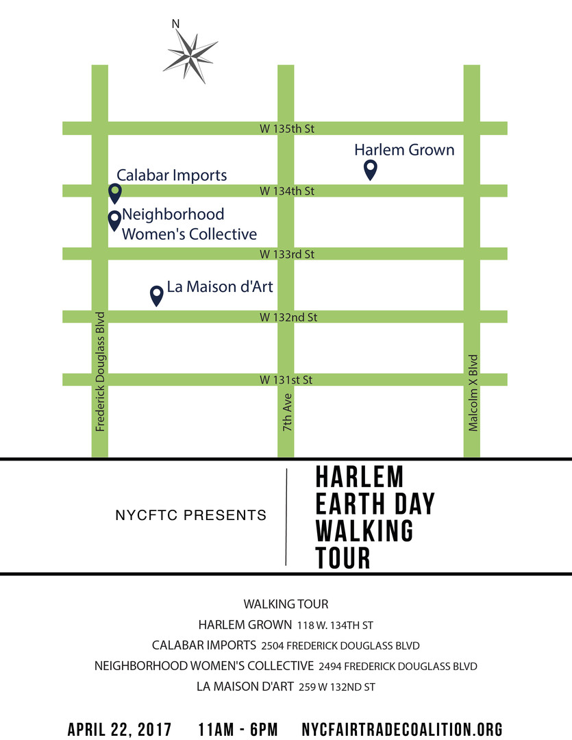 NYCFTC walking tour map for print and web